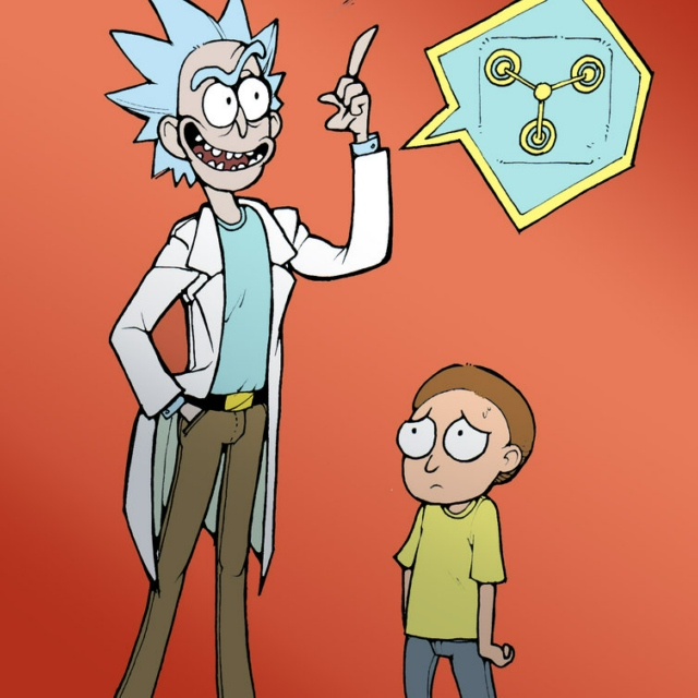 The Scientist and His Grandson