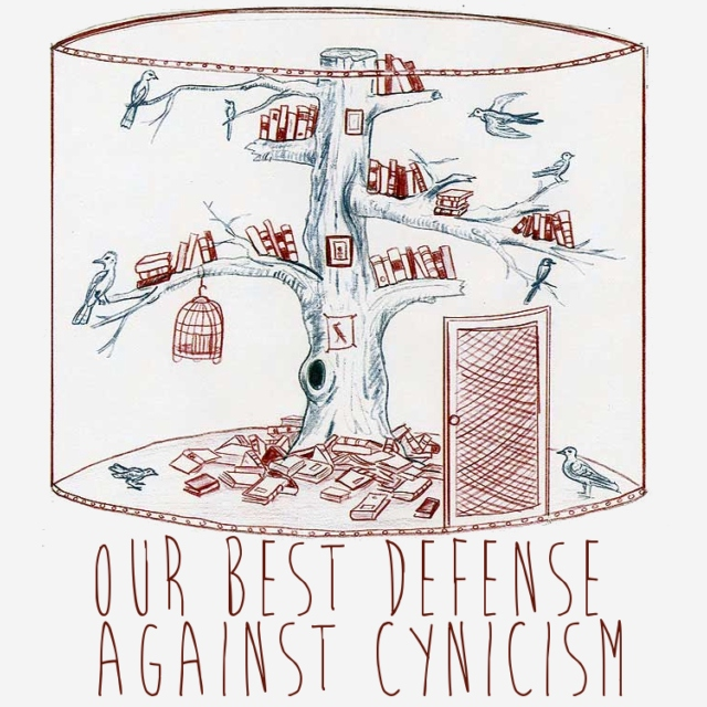 Our Best Defense Against Cynicism