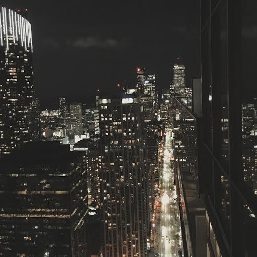 sleepless nights and city lights
