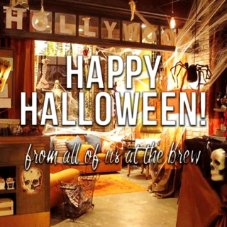 happy halloween from the brew!