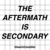 the aftermath is secondary