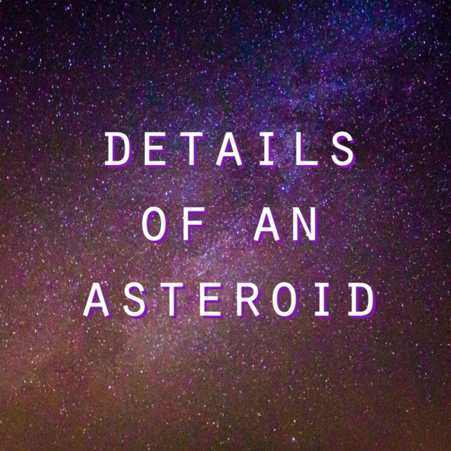 details of an asteroid
