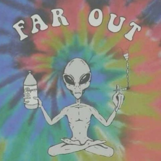 Far out.
