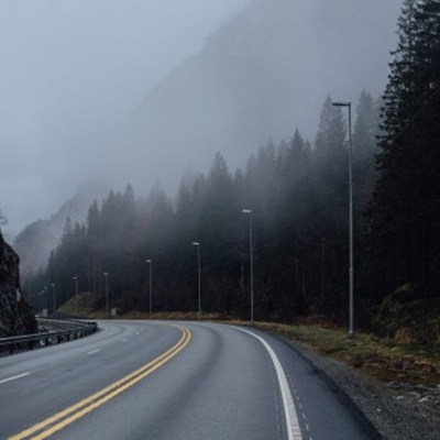 Long, lonely, but comfortable road