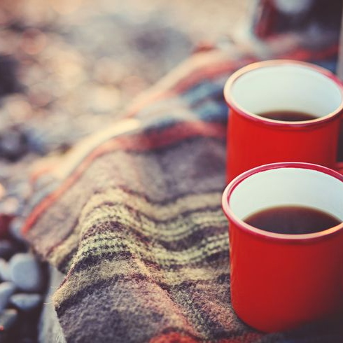 hot drinks and cool evenings