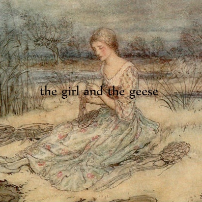 the girl and the geese