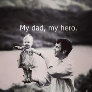 My dad, my hero.