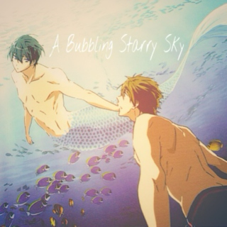 A Bubbling Starry Sky