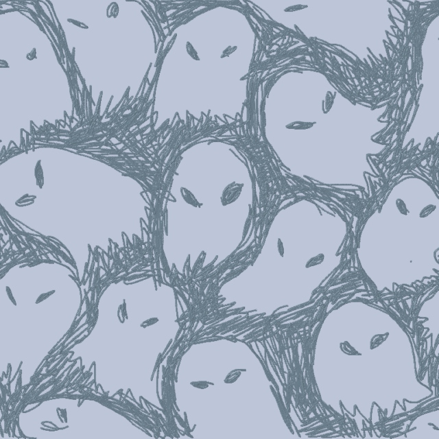 I WANT THESE GHOSTS TO GET OUT OF MY SKIN