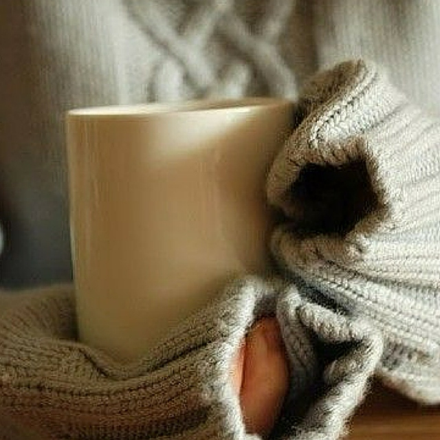 Cozy Jumpers & Hot Tea