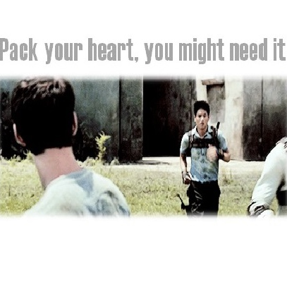 Pack your heart, you might need it