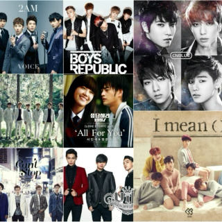 K-Pop Idol Mellow Songs