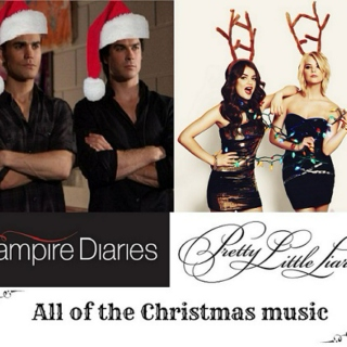 The Vampire Diaries + Pretty Little Liars Xmas mix