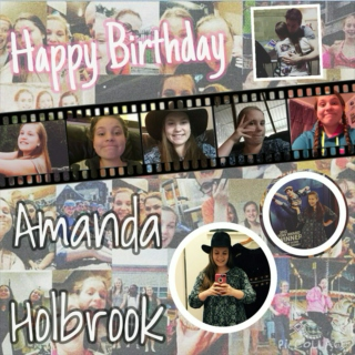 Happy Birthday Amanda Holbrook!