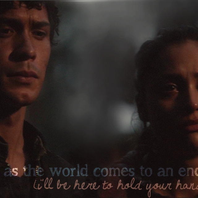as the world comes to an end (i'll be here to hold your hand)