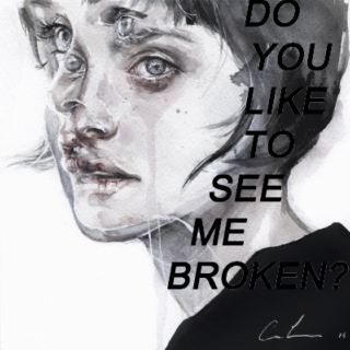 Broken But Not Bruised