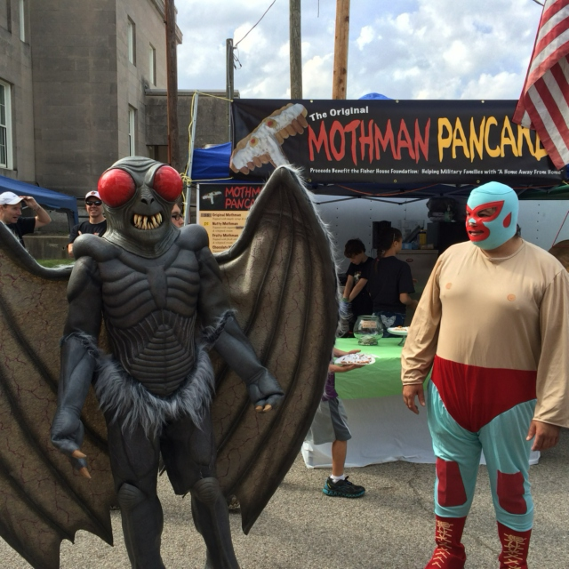 i can't believe lenny is the mothman
