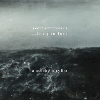 i don't remember us falling in love