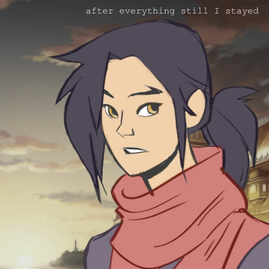 after everything still I stayed.