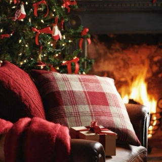Christmas Dreams by the Fire