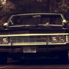 Riding in the Impala
