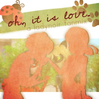 """""""Oh, It is Love."""" - A LadyNoir Fanmix"""