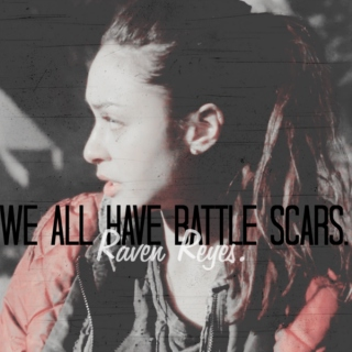we all have battle scars.