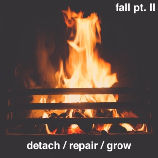 fall pt. II, detach / repair / grow