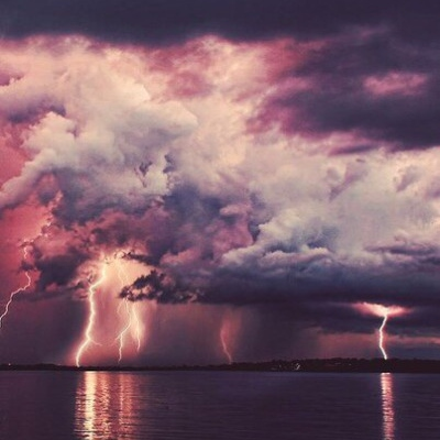 thunderclouds and ufos