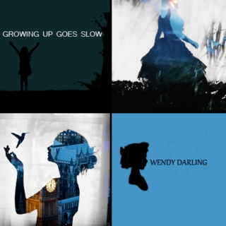 growing up goes slow (a wendy darling fanmix)