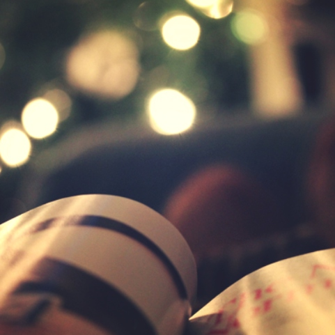 I drank coffee, read old books and waited for the year to end