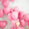 Bubblegum + Heart Shaped Balloons