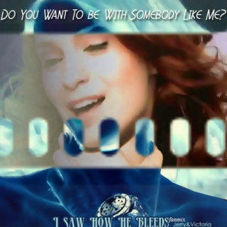 [I Saw How He Bleeds] - Jerry&Victoria - Do You Want To be With Somebody Like Me?