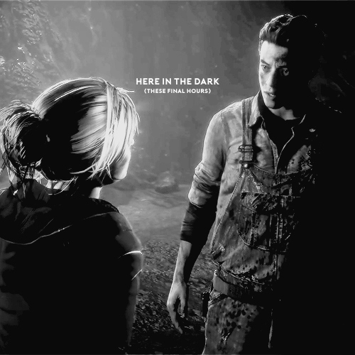 here in the dark (these final hours)