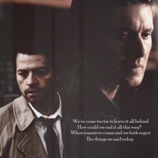 You carved your name into my heart again (Dean/Cas)
