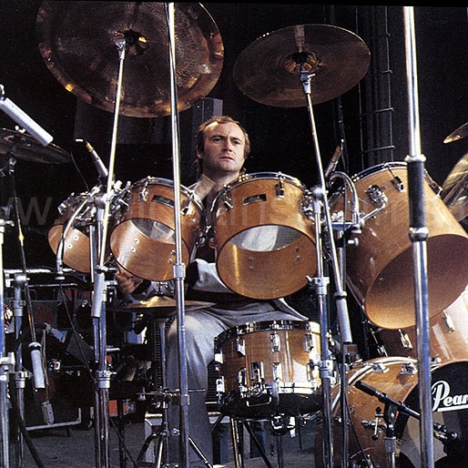 Phil Collins: Drummer!