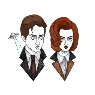 non believer; scully x mulder