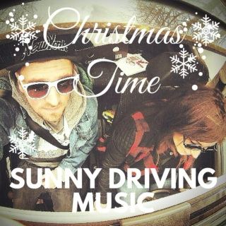 christmas time sunny driving music
