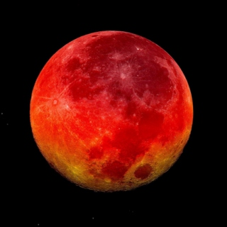 As Rare and Strange as the Blood Red Moon