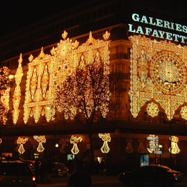 November in Paris (Galleries Lafayette)