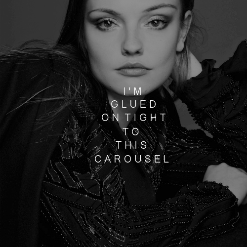 (chasing after you is like a fairytale) i'm glued on tight to this carousel