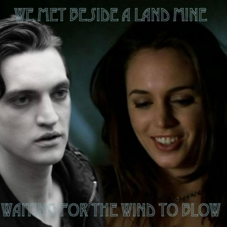 We Met Beside A Land Mine Waiting For The Wind To Blow