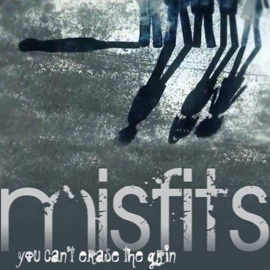 you can't erase the grin (Misfits s2)