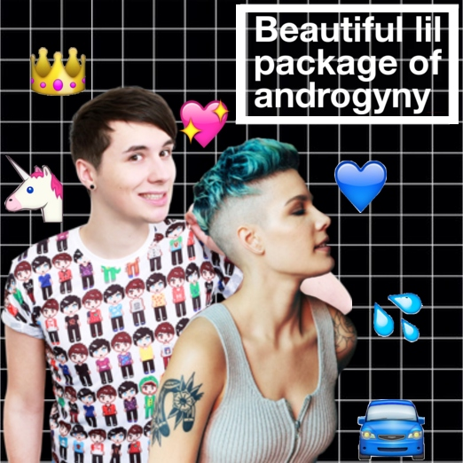 Beautiful lil package of androgyny