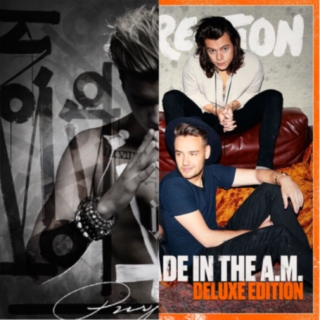 Justin Bieber/One Direction New Albums (Purpose) (Made in the A.M)-Part 1
