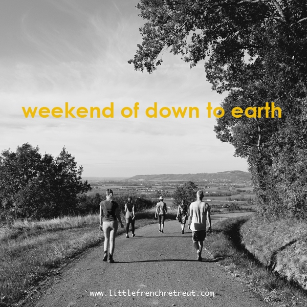 weekend of down to earth