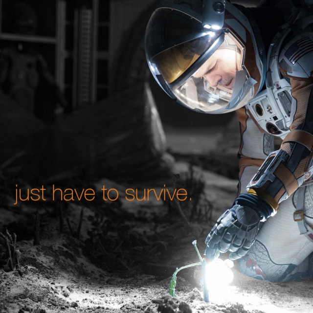 just have to survive