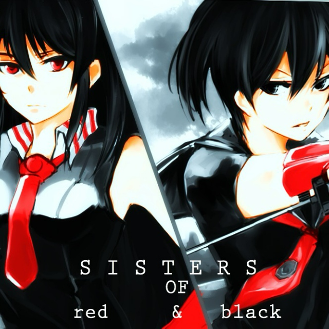 S I S T E R S OF red & black
