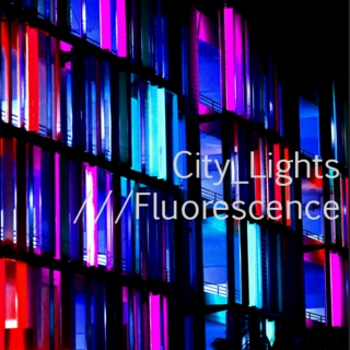 City Lights : Fluorescence