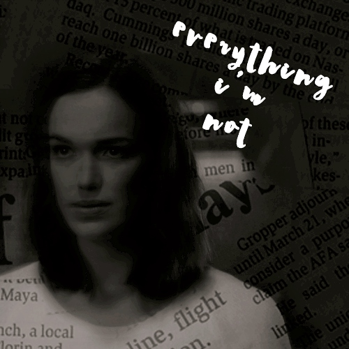 everything i'm not;